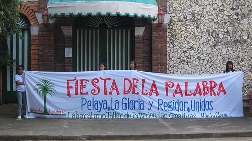 Fiesta de la Palabra 25. Pelaya, Cesar. Archivo Liebre Lunar