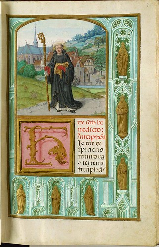 022- Benedictus-45 recto-GKS 1605 4 º Salterio - 1500-1535- The Royal Library