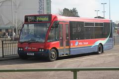 metropolitan area, vehicle, optare solo, transport, mode of transport, public transport, dennis dart, land vehicle, bus,