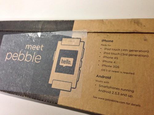 Pebble box