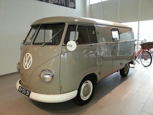 RV-55-31 Volkswagen Transporter bestelwagen 1959