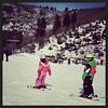 Gotcher homeschool: my little Elise in ski school