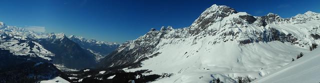 Mont Charvin et Bauges de Praz Vechin le 19.02.13