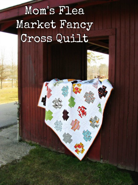 Mom's Flea Market Fancy Quilt Title Photo