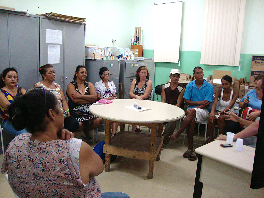 Centro De Saúde Ouro Preto Forma Grupos Para Controle Do T