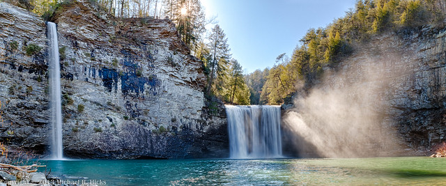 Cane Creek and Rockhouse Falls - Fall Creek Falls State Park -  February 24, 2013