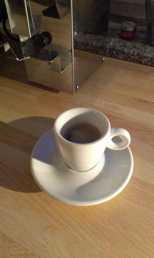 Den Tag mit einem guten Kaffee zu beginnen. Es hätte schlimmer kommen können.