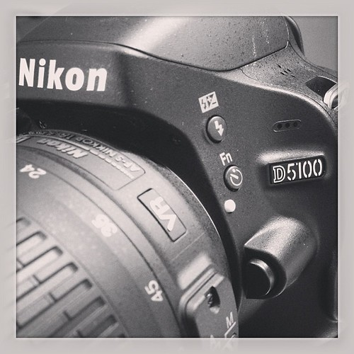 """I was going to get it for you for Mother's Day, but..."" #nikon #d5100 #stillcantbelieveit"