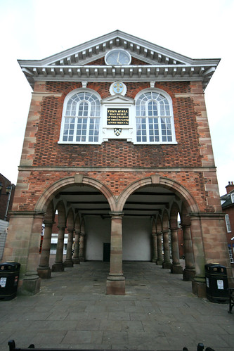 Town Hall, Tamworth, Staffordshire