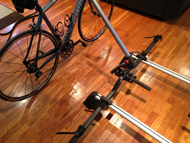 E60 E61 Bmw Roof Rack Crossbars And Bicycle Lift