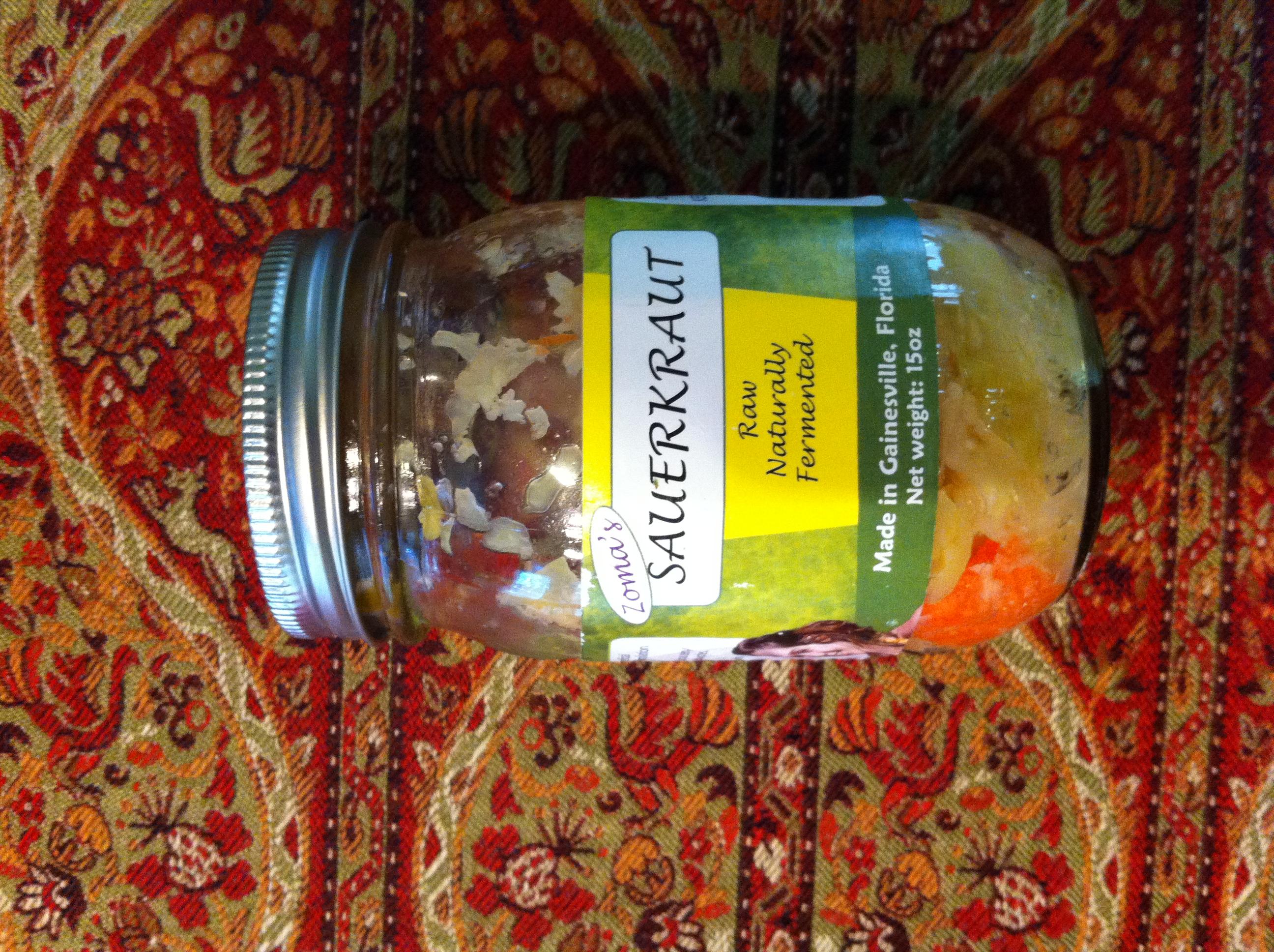 Zoma's Sauerkraut