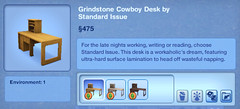 Grindstone Cowboy Desk by Standard Issue