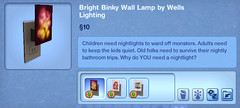 Bright Binky Wall Lamp by Wells Lighting
