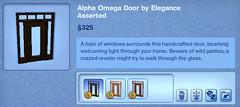 Alpha Omega Door by Elegance Asserted