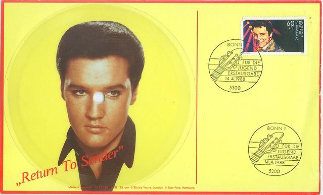 3 - Elvis Presley - Return To Sender - D - 1988