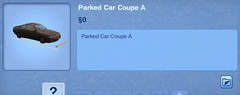Parked Car Coupe A