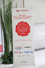 Indonesia Middle-Class Brand Forum 2013-Standing Banner