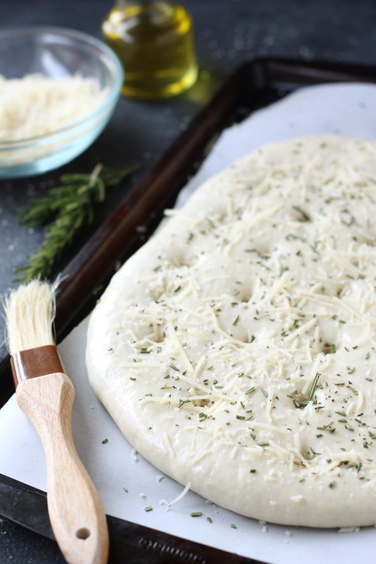 Rosemary and Parmesan Focaccia