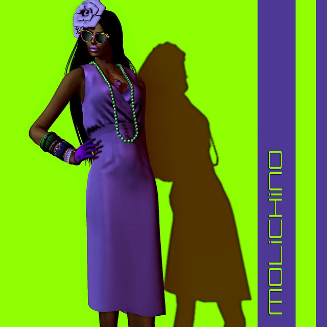 MOLiCHiNO Liri Dress for Fifty Linden Fridays