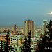 Beirut Moonset