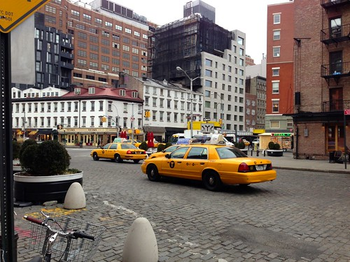 Yellow Cabs at NYC
