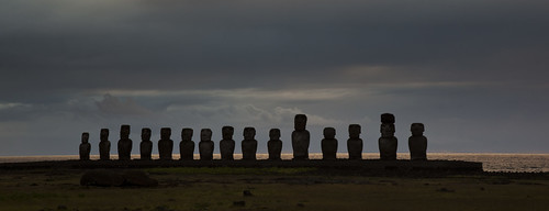 Day 04 - Morning Sun Rise - Easter Island
