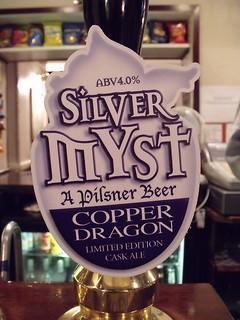 Copper Dragon, Silver Myst, England.