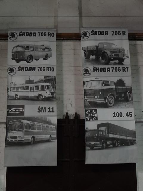 Škoda powered vehicles
