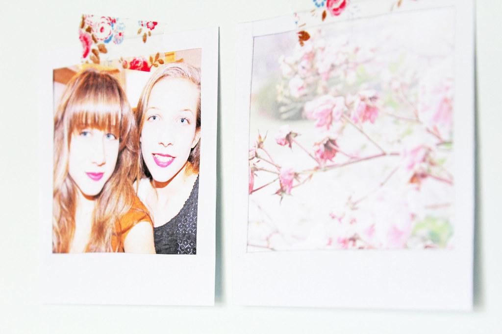 faux polaroids