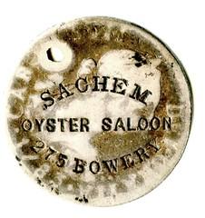 cstp-14550 Sachem Oyster Saloon NYC SLT a