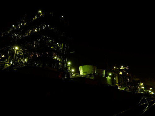Kawasaki factory night scene 08