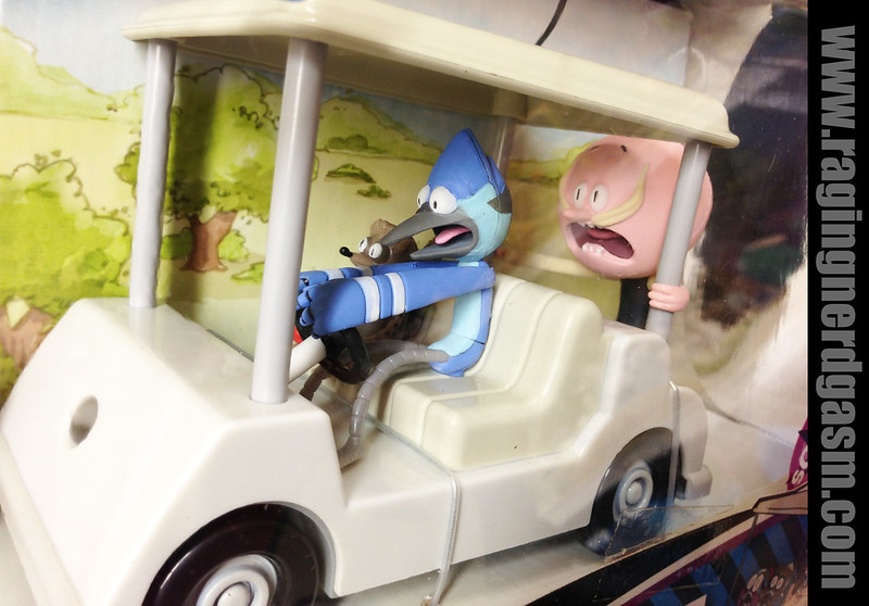 Regular Show RC Golf Cart with Sounds by Jazwares  (1)