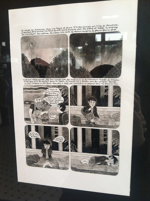 Geneviève Castrée at the Fantagraphics Bookstore & Gallery