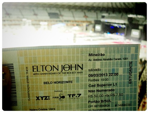 67/365 - Elton John's show