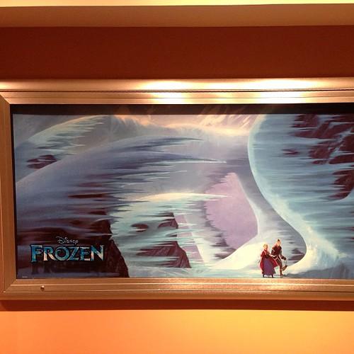 Frozenのアート。