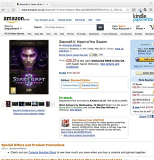 Amazon Starcraft 2: Heart of the Swarm