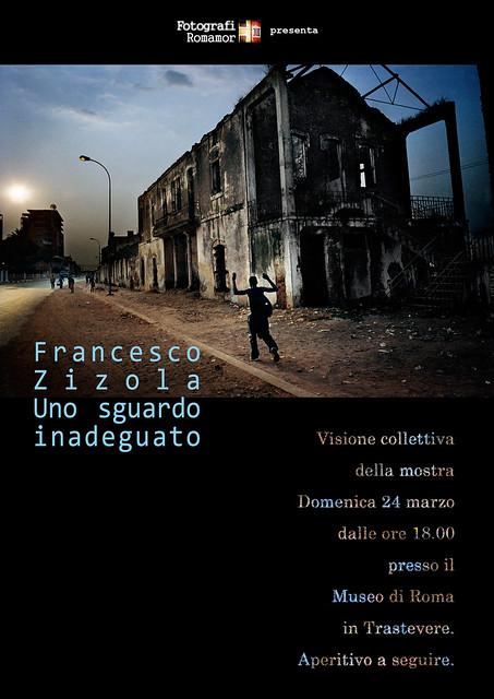 Visita collettiva alla mostra di Francesco Zizola