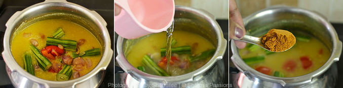 How to make sambar - Step2