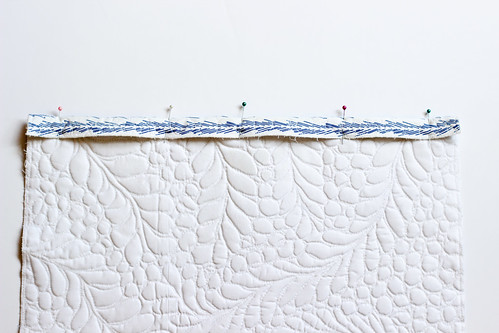 Quilted Grocery Bag Holder Tutorial by Jeni Baker