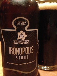 @truefittbeers Ironopolis Stout, really tasty toasty with a sweet hint, excellent.