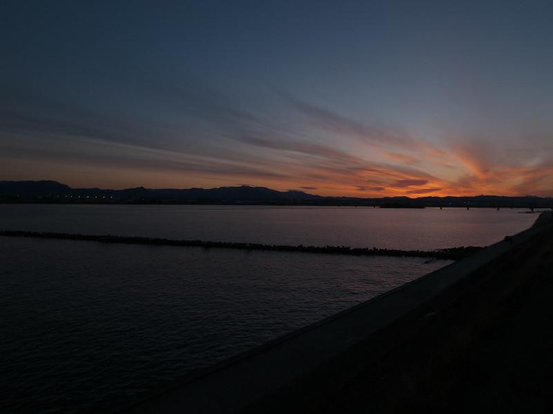 川sunset