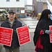 Save Lewisham Hospital: Campaigners outside A&E