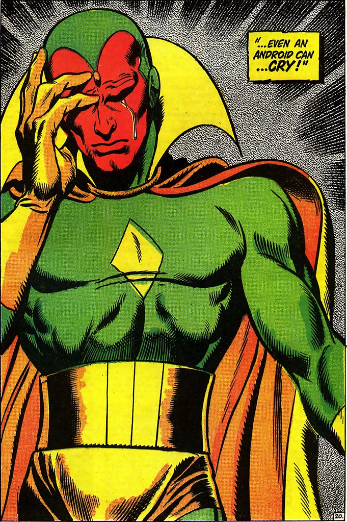 Avengers 58 Even an Android Can Cry John Buscema 1968