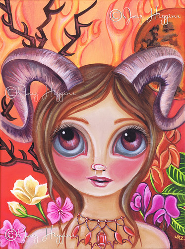"""Aries"" Painting"