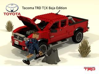 Toyota Tacoma TRD T|X Baja Edition