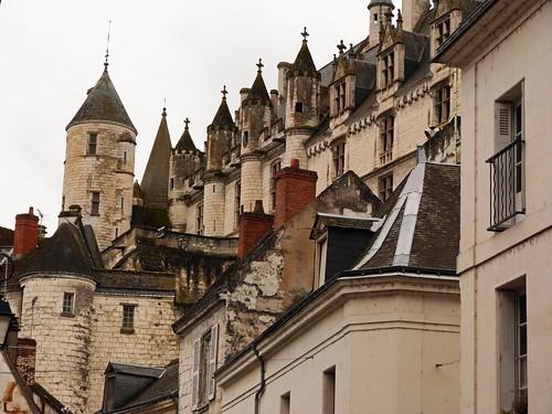 Imagen de la Ciudadela de Loches (Valle del Loira, Francia)