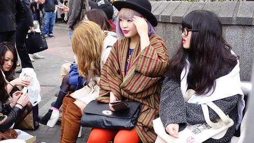 Chicas en Shibuya