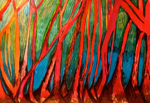 Rhapsody in Trees by Michelle Schamis