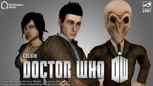 Doctor Who in PlayStation Home