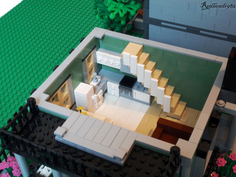Lego Furniture Beautiful Lego Interiors All About The